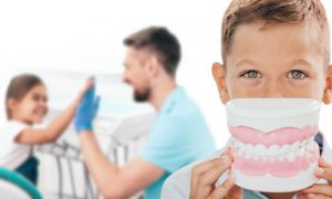 Keeping the children's teeth as healthy as possible.